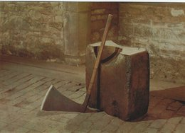 Block And Axe. Armouries Tower Of London.  B-3202 - History