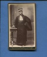 Superbe Photo Ancienne Circa 1890 Homme Justice Juge Ou Avocat Paris Photographe Ernest FERET Passage Brady Hutinet - Métiers