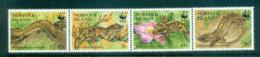 Norfolk Is 1996 WWF Skinks & Geckos MUH Lot64078 - Norfolk Island
