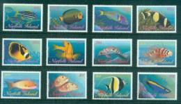 Norfolk Is 1998 Reef Fish MUH - Norfolk Island