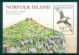 Norfolk Is 1999 Providence Petrel MS MUH Lot80628 - Norfolk Island