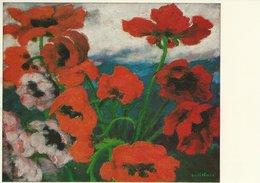 Painting - Emil Nolde: Großer Mohn.  B-3203 - Paintings