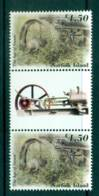 Norfolk Is 2002 Age Of Steam $4.50 Gutter Pair MUH (lot21728) - Norfolk Island