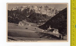 1930 SELVA DI VAL GARDENA Panorama FP V See 2 Scans - Italia