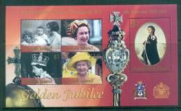 Norfolk Is 2002 QEII 50th Anniv. Reign MS MUH Lot80547 - Norfolk Island
