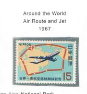 Giappone PO 1967 Giro Aereo Intorno Al Mondo Scott.905 See Scan On Scott.Page - 1926-89 Imperatore Hirohito (Periodo Showa)