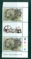 Norfolk Is 2002 The Age Of Steam Gutter Pr MUH Lot80559 - Norfolk Island