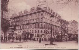 PARIS  IX  LA CHAUSSEE D'ANTIN  LA ACADEMIA GAYA - Distretto: 09