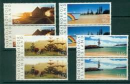 Norfolk Is 2003 Scenes Pairs  MUH (lot21717) - Norfolk Island