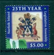Norfolk Is 2004 Legislative Assembly 25th Anniv MUH Lot79173 - Norfolk Island