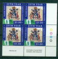 Norfolk Is 2005 $5 Legislative Assembly Corner Block 4 MUH (lot21519) - Norfolk Island