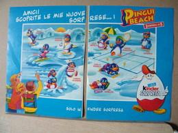 MONDOSORPRESA, PUBBLICITA' (PB02) KINDER FERRERO, PINGUI BEACH - Kinder & Diddl