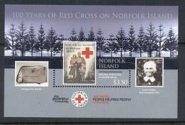 Norfolk Is 2014 Red Cross MS MUH - Norfolk Island