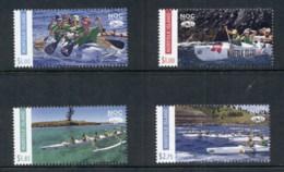Norfolk Is 2016 NOC The Rock Canoe Paddling MUH - Norfolk Island