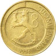 Monnaie, Finlande, Markka, 1994, TTB, Aluminum-Bronze, KM:76 - Finland