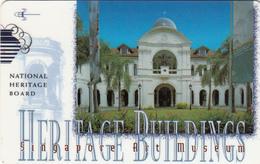 SINGAPORE - Heritage Buildings 2/Art Museum, CN:147SIGΒ, Used - Singapour