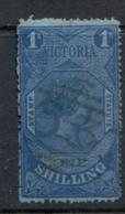 Victoria 1870-83 Stamp Statute 1/- Perf 13 Wmk V & Crown FU - 1850-1912 Victoria