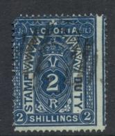 Victoria 1879-96 Stamp Duty 2/- Perf 12 FU - 1850-1912 Victoria