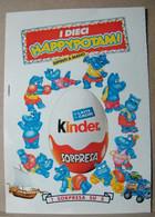 MONDOSORPRESA, PUBBLICITA' (PB15) KINDER FERRERO, HAPPYPOTAMI FITNESS - Kinder & Diddl