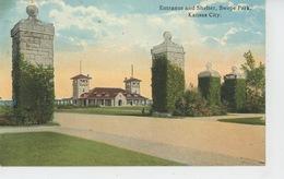 U.S.A. - MISSOURI - KANSAS CITY - Entrance & Shelter, Swope Park - Kansas City – Missouri