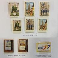 Irlande N° 1493 à 1498 + 1504 à 1506 Neufs Sans Charnière 2003 - 1949-... Republic Of Ireland