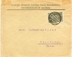 (Lo2587) Brief DR St. Bürstadt N. Cronberg - Covers