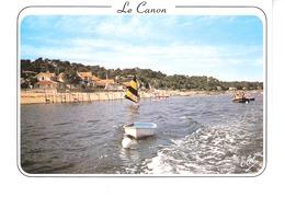 Le Canon (Bassin D'Arcachon-Gironde)-Le Port Et Le Parc à Huîtres-Bateau De Pêche-Edit. Elcé - Arcachon