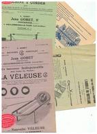 DOCUMENTS AGRICOLES Et JEAN GOBERT à COULOMMIERS LA TOUR (LOIR ET CHER) & MAURICE JEANSON à ETRELLES SUR AUBE (AUBE) - Advertising