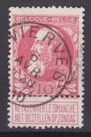 N° 74  VIERVES  COBA +4.00 - 1905 Breiter Bart