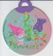 Figurines, Plastic Material, Trolls, Dreamwork Association, Token Made As Christmas Ornament 52/50 Mm - Figurines
