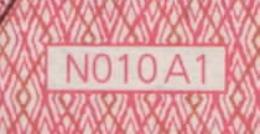 10  EURO DRAGHI  AUSTRIA  NB N010 A1  FIRST POSITION   UNC - EURO
