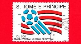 S. TOME' E PRINCIPE - Usato - 1994 - Campionato Mondiale Di Calcio, Brasile - 500 - Sao Tomé E Principe