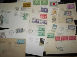 Collection , Etats-unis 20 Premiers Jours - Francobolli