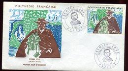 Polynésie - FDC -  Pierre Loti - 1973 - FDC