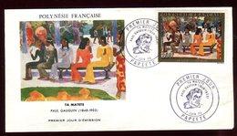 Polynésie - FDC -  Oeuvre De Gauguin - 1973 - FDC
