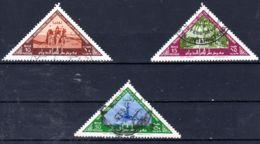 20.2.1962; 1. Int. Ausstelung In Trupolis, Mi-Nr. 115A - 117A, Gestempelt, Los 50039 - Libië