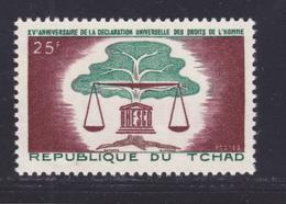 TCHAD N°   93 ** MNH Neuf Sans Charnière, TB (D7665) Droits De L'homme - 1963 - Chad (1960-...)