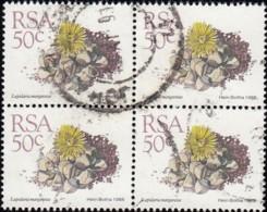 SOUTH AFRICA - Scott #749 Lapidaria Margaretae (*) / Unsed Block Of 4 Stamps (bk1100) - South Africa (1961-...)