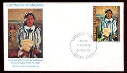 Polynésie - FDC -  Oeuvre De Gauguin - 1980 - FDC