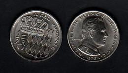 Monaco 1/2 Franc (50 Centimes) 1976 50c - Mónaco
