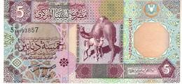 Libya P.65   5 Dinars 2002 A-unc - Libye