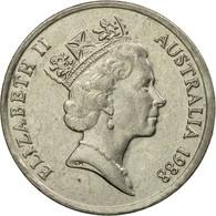 Monnaie, Australie, Elizabeth II, 10 Cents, 1988, TTB, Copper-nickel, KM:81 - Monnaie Décimale (1966-...)