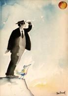 José DAVID - Buster (Keaton) - Lot De 5 Cartes - Other Illustrators