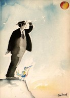 José DAVID - Buster (Keaton) - Lot De 5 Cartes - Illustrators & Photographers