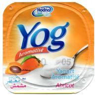 "Opercule Cover Yaourt Yogurt "" Hodna "" Yog Abricot Apricot Yoghurt Yoghourt Yahourt Yogourt - Opercules De Lait"