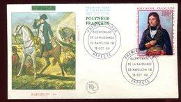 Polynésie - FDC -  Napoléon - 1969 - FDC