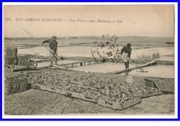 22867  CPA LES SABLES D'OLONNE  : Les Parcs à Huitres !  1922 !! Belle Carte ! ACHAT DIRECT !! - Sables D'Olonne