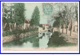22874  CPA  ROZOY En BRIE  : Le Pont Sur L' Yères ! 1905 !! Jolie Colorisée ! - France