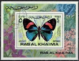 Ras Al Khaima - Mi-Nr Block 111 Gestempelt / Used (n683) - Farfalle