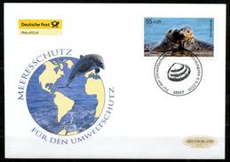 """First Day Cover Germany 2010 Mi.Nr.2795 Ersttagsbrief""""Umweltschutz,Meeresschutz-Robben """" 1 FDC - Umweltschutz Und Klima"""